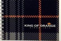 King of Orange Tartan / Tartan