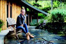 Comfy women's fall footwear / Sheepskin footwear - #SheepskinOfOregon