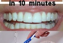 Dental hygiene / Different ways of cleaning teeth