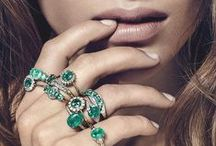 Gemporia   Emerald / One of the most famous precious gemstones on the planet, few others are comparable to this striking green gem. When set into a beautiful design by Gemporia, the results are sublime.