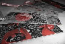 ~ Handmade Book markers ~ / handmade book markers made from newspaper clippings