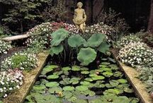 classical / Landscape design regarded as representing an exemplary standard; traditional and long-established in form or style.