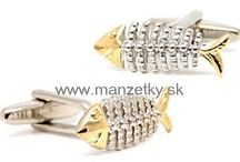 Silver coloured cufflinks / We offer classic, novelty and luxurious cufflinks. You will get the finest quality for a reasonable price at www.manzetky.sk