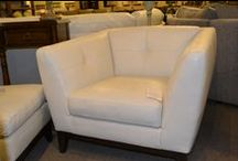 Leather Furniture / Shubert Design has an amazing leather selection.
