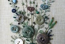 BUTTONS / Things to make using buttons....not just pictures of buttons.