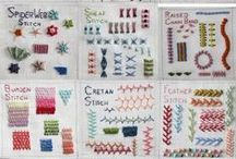 EMBROIDERY Tips-STITCHES