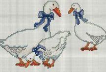 """Embroidery Cross BIRDS"""