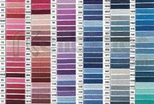 Embroidery COTTON Colours