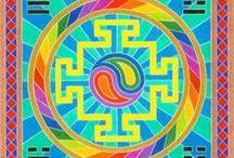 Colorpencel Mandalas / Mandalas made with colorpencels.