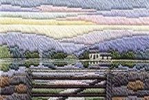 """""""EMBROIDERY LONG STITCH"""" / Everything from long stitch, needle point, bagello etc."""