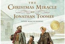 Winter Holidays Books / Children's books about Christmas, Hanukkah, and Kwanzaa found at the UIU library.