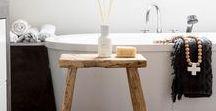 Bathroom - White & Wood