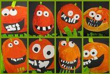 Arcadia preschool pumpkins & fall / by Nicole Friend