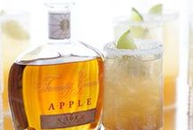 """Twenty Grand Apple / """"An infusion of exquisite French vodka, vibrant, imported VS Cognac and rich, lavish apple flavors. The nose of fresh, crisp apples envelops the senses as subtle notes of cinnamon and underlining seasonal spices fade into a warm, candied finish."""""""