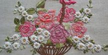 Embroidery Baskets & Vases