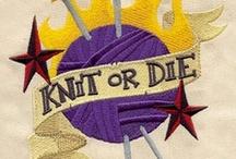 Needleworks  / FUN. FUN. FUN... and fairly do-able stuff to knit. / by Maria Novoa