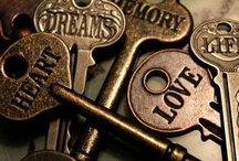 KEYS - Unlocking Time / Key to my heart.  Key to my soul. Key to my world  that you're soon to know. Key for the tears  that fall from my face. Key for the source  of undying grace. Key for the end  of sadness and pain. Key for the knowledge  it's not just a game. Key for the beginning  of truth time and light. Key for the promise  life will all end just right. / by Wendy Dykstra-Fishlock