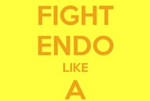 Fighting Endometriosis  / Having Endometriosis for 12 years , I support a cure for this very painful disease.