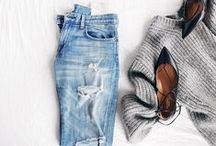 FASHION ✖ outfits on the floor