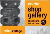 SHOP | GALLERY  / Our shop | gallery is now open from Mon - Fri, 10- 4pm and by appointment.  All product listed on this board are for sale.  Call in today or visit this board regularly to view our large and growing range of metal couture - a beautifully curated range of bronze art and metal product design - and stockists of Maori art and object, vintage, retro and industrial collectables, architectural salvage and topiary. Stock will be listed here as it becomes available - please enquire to purchase.