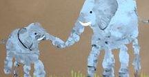 kleine Hände große Kunst / Alles Rund um Hand- und Fußabdrücke