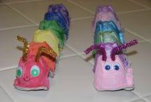 Børne aktiviteter / Sjove ideer og aktiviteter som man kan lave med sit 3-10 årige barn.
