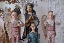 SANTOS & MILAGROS - Art of Devotion / by Wendy Dykstra-Fishlock