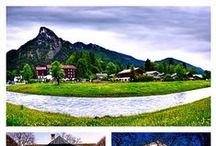 Oberammergau, Germany / Oberammergau is situated in Bavaria, in the south of Germany, near to Garmisch-Partenkirchen, famous for its winter sports attractions such as skiing or ski jumping, with the Zugspitze, Germany's highest mountain, and the nearby Austrian border.  Flights are usually booked into Munich (unless you are visiting other areas prior to attending the play,) and you are transferred from there.