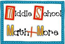 Middle School Math + More / Welcome to Middle School Math Plus More! Find original teacher-made classroom resources + ideas from  exceptional teacher authors. If you would like to contribute to this board, e-mail me at leahpopinski@gmail.com. Pinners, feel free to pin others from this board as well as add helpful ideas, blog posts, and freebies frequently to keep our board interesting to everyone.  Thanks! -Leah / by Leah Popinski - Sum Math Fun