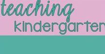 Teaching in Kindergarten /  Teaching in Kindergarten - A place to find great Kindergarten teaching ideas for lessons, projects, activities, and fun, active learning!  This board is not taking new contributors. Thanks! -Leah