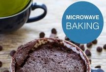 Microwave Baking / Quick and hassle-free dessert making.