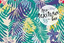 TEXITURA | Printing Design Magazine / TEXITURA is a Spanish publication focused in the most creative pattern design.