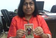 Reiki Master, Hypnotherapist, Tarot Reader, Crystal Therapy Specialist - Sangeeta Gupta / #SangeetaGupta the leading and well renowned seer and guide has been doing #Tarot Reading for past many years. Her Readings are accurate and specific.Thousands of people ,students, renowned business man, housewives, politicians,IAS have been regularly seeking advice from her through her Tarot Readings. This has enabled them to make accurate choices in #career, #marriage, #courtcases, #relationships etc.