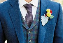 Bad-ass buttonholes / Inspo for all you style-conscious grooms