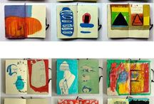 Book Art and Artists' Books / Altered books | notebooks & artist's sketchbooks | illustration | book covers