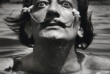 artist SALVADOR DALI / salvador dali | surrealism | self as performance | Spanish artists | twentieth century art | painting
