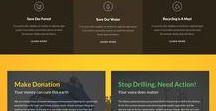 Noé projekt / Landing page tervezés