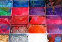 Colour palettes / Colour palettes I love -