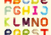 Typo - Schrift / Schriften zur Inspiration und Gestaltung von Grußkarten, Grafiken und Co. / Fonts for the inspiration and design of greeting cards, graphics and co.