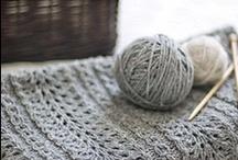 Blankets - knit/crochet
