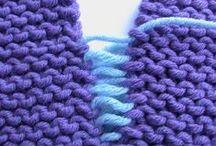 Techniques - knit/crochet