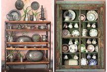 Cabinets / som på utställning
