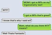 """GenX Brat - Text Messages Gone Wrong... / When I was younger, we only looked stupid in front of the people who were there at the time... nowadays... you should really """"read"""" before you """"send""""! LOL"""