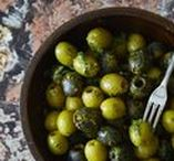 Green is the New Black / Experience the flavor of green olives with these fun, delicious, and easy recipes featuring California Green Ripe Olives.