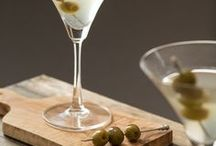 California Ripe Olives After Dark / California Ripe Olives have always been a tasty addition to a variety of dishes and now they've proved their rightful place in craft cocktails. Often thought of as solely a garnish, California Ripe Olives take center stage in these custom cocktail recipes.