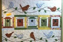 2014 Quilt Minnesota Shop Hop / Year number EIGHT! Fabrics designed by Clothworks.