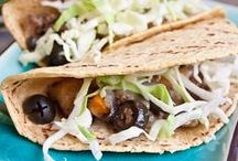 National Taco Day / California Ripe Olives spice up a variety of different taco recipes. Here are some of our favorite variations of taco-inspired dishes in celebration of National Taco Day.
