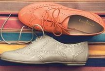 F L A T S / Cute and preppy flats and other casual wear shoes.  / by Centi Shoes