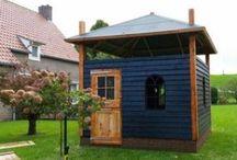 Kippenhok / Kippenhok op maat gemaakt van hout. Alles is maatwerk. Ook voor uw eigen idee bent u bij ons van harte welkom! www.vanviegen.com