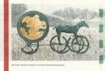 Solvognen og historiebrug / Solvognen er blevet brugt som nationalt klenodie og alt muligt andet siden den blev fundet tilbage i 1902.